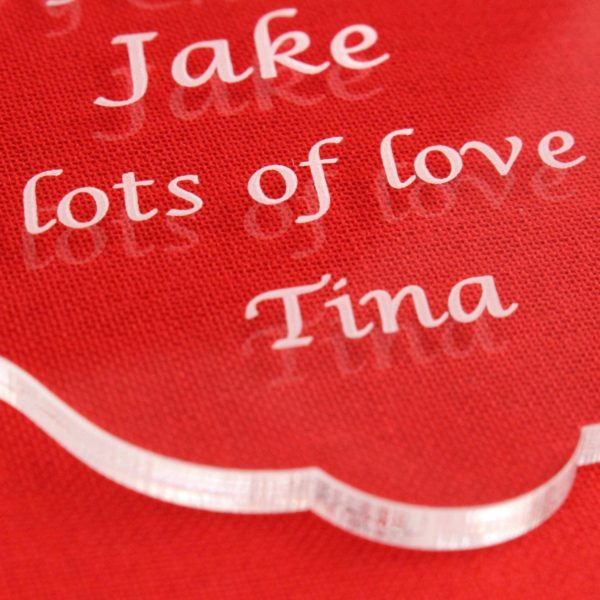 personalised cat christmas bauble 3