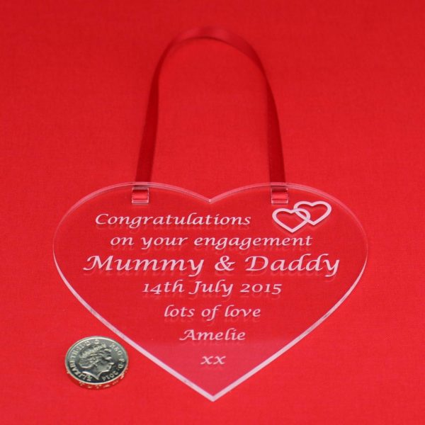 personalised engagement heart 3
