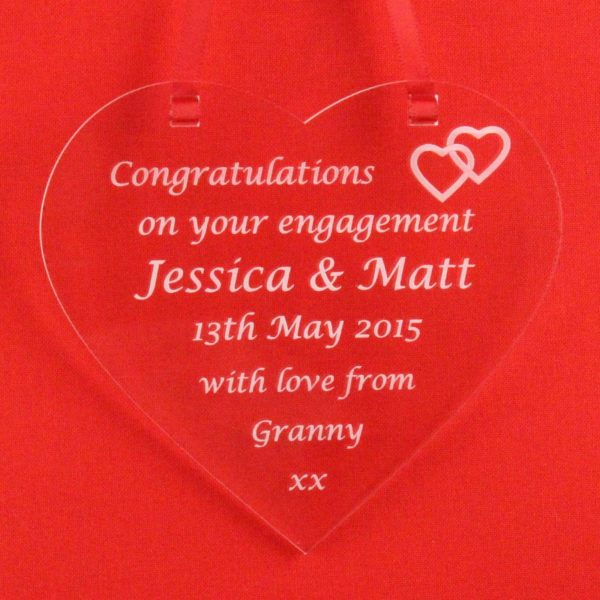 personalised engagement heart 4