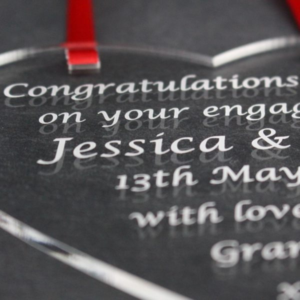 personalised engagement heart 5