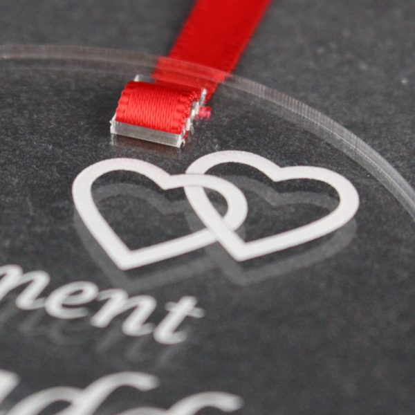 personalised engagement heart 6