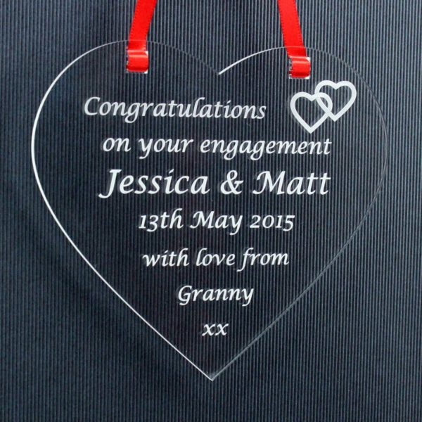 personalised engagement heart