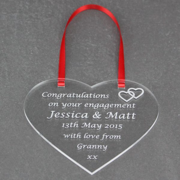 personalised engagement heart 7