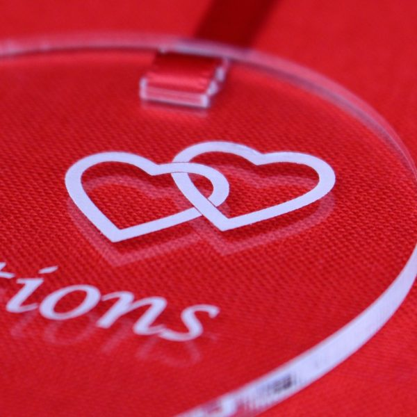 personalised engagement two hearts one love 9