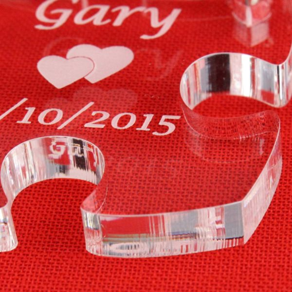 personalised puzzle pieces key rings 5