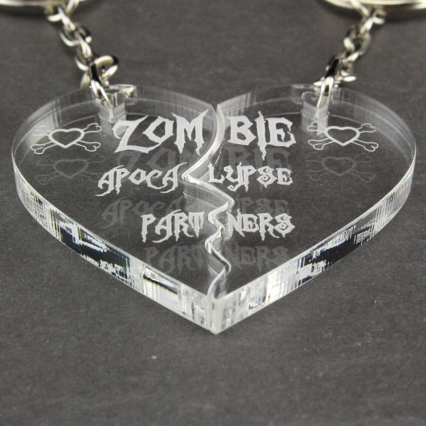 zombie apocalypse partners key rings 4