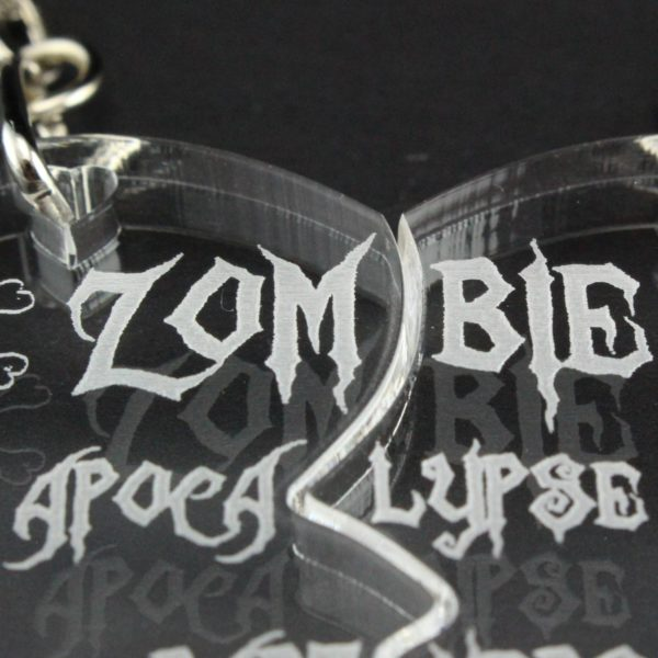zombie apocalypse partners key rings 6