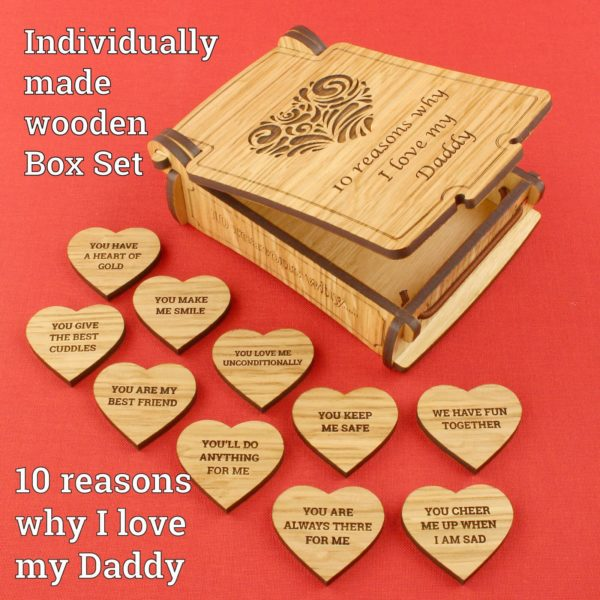 10 reasons daddy generic open box text 3