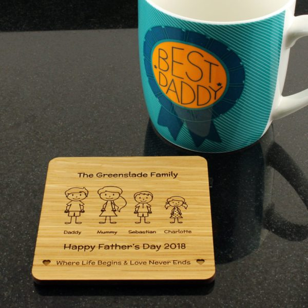family coaster cup 4