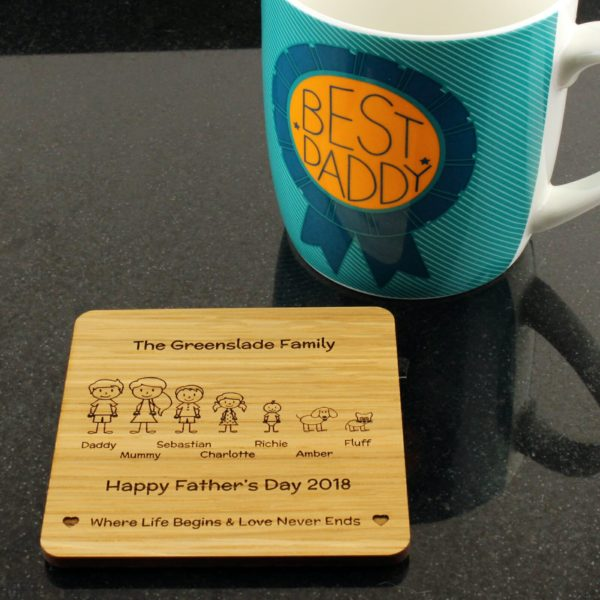 family coaster cup 7