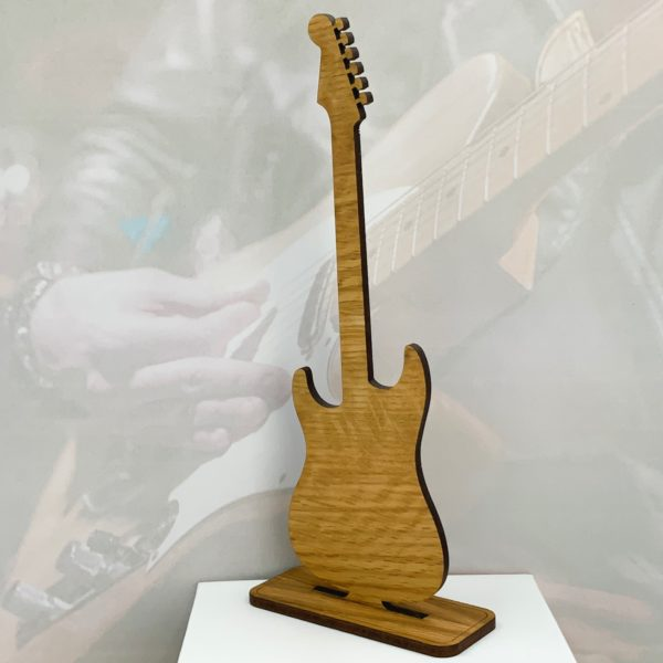 guitar freestanding fathers day gift 19
