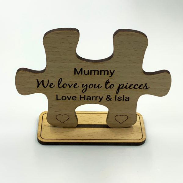puzzle freestanding beech mothers day 12