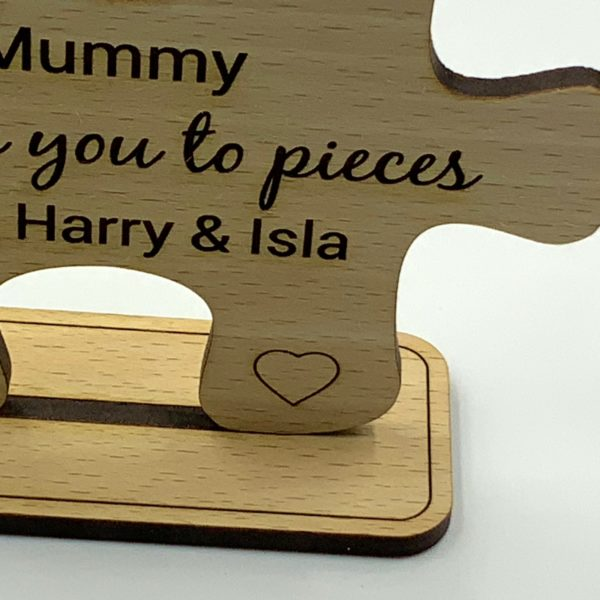 puzzle freestanding beech mothers day 14