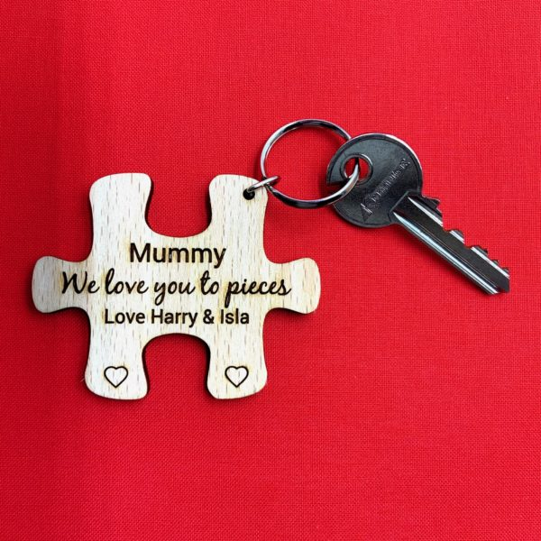 puzzle keyring beech mothers day 11
